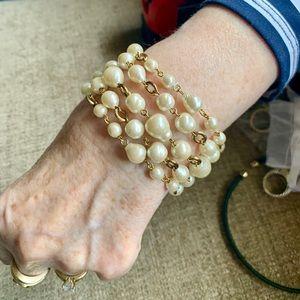 Carolee Vintage Freshwater Pearl Bracelet $34